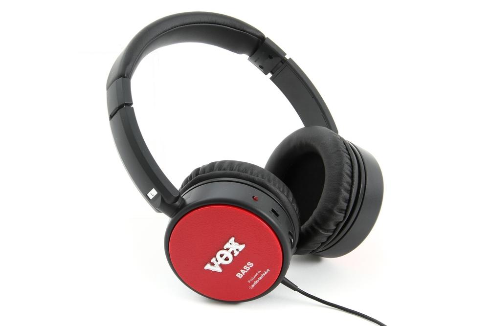 Vox amPhones Active Powered Guitar Headphones Bass Practice Amplifier APHN-BASS