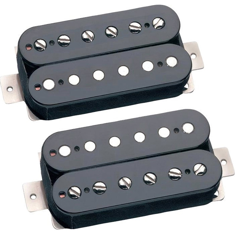 Seymour Duncan APH-2s Alnico II Pro Slash Humbucker Guitar Pickup Black Set APH2