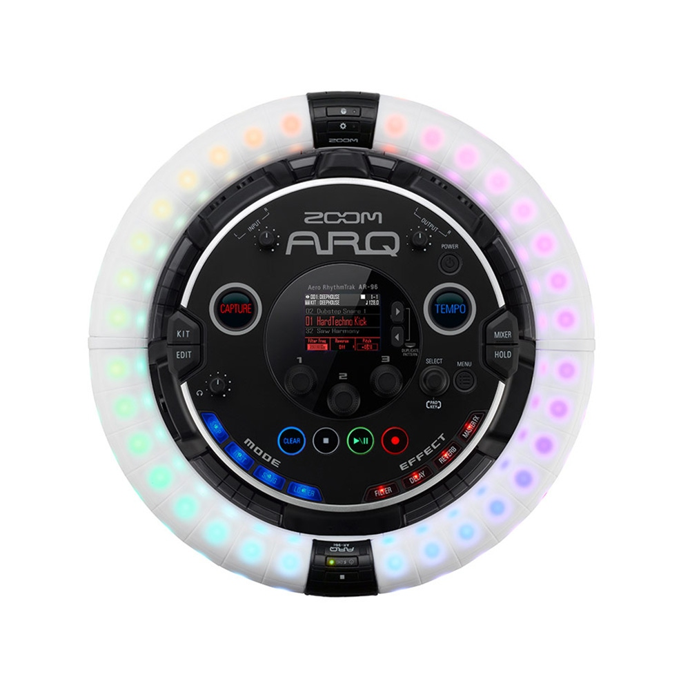 pitbull audio zoom arq aero rhythmtrak all in one production and live performance instrument. Black Bedroom Furniture Sets. Home Design Ideas