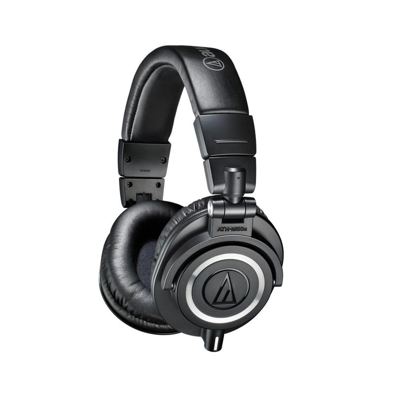 Audio-Technica ATH-M50X Professional Monitor Headphones (Black)