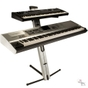 Ultimate Support Apex Series AX-48 Pro Column Keyboard Stand (Silver) *B-Stock*