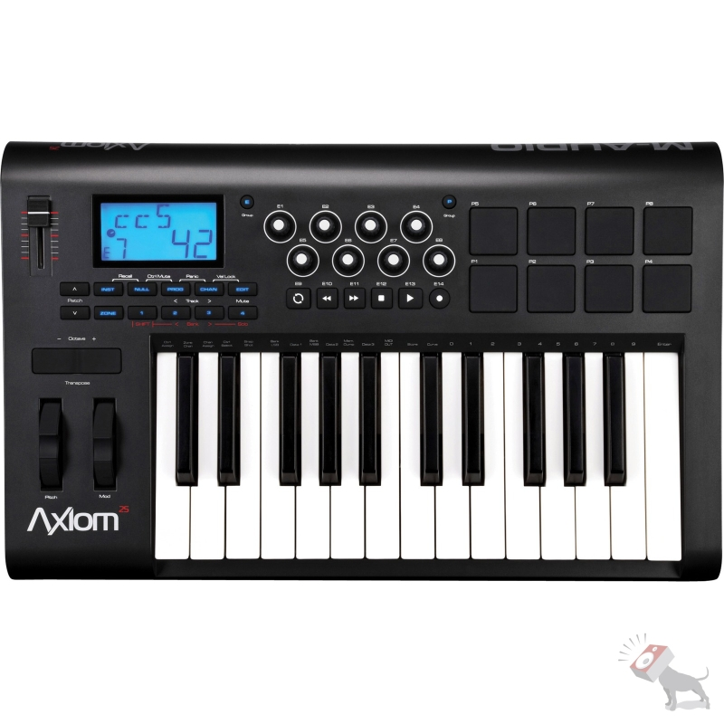 M-Audio Avid Axiom 25 Key Semi-Weighted USB MIDI bus-Powered Controller Keyboard