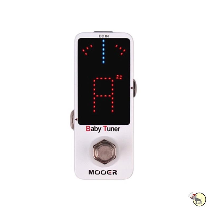 Mooer Baby Tuner Guitar/Bass Tuner Pedal