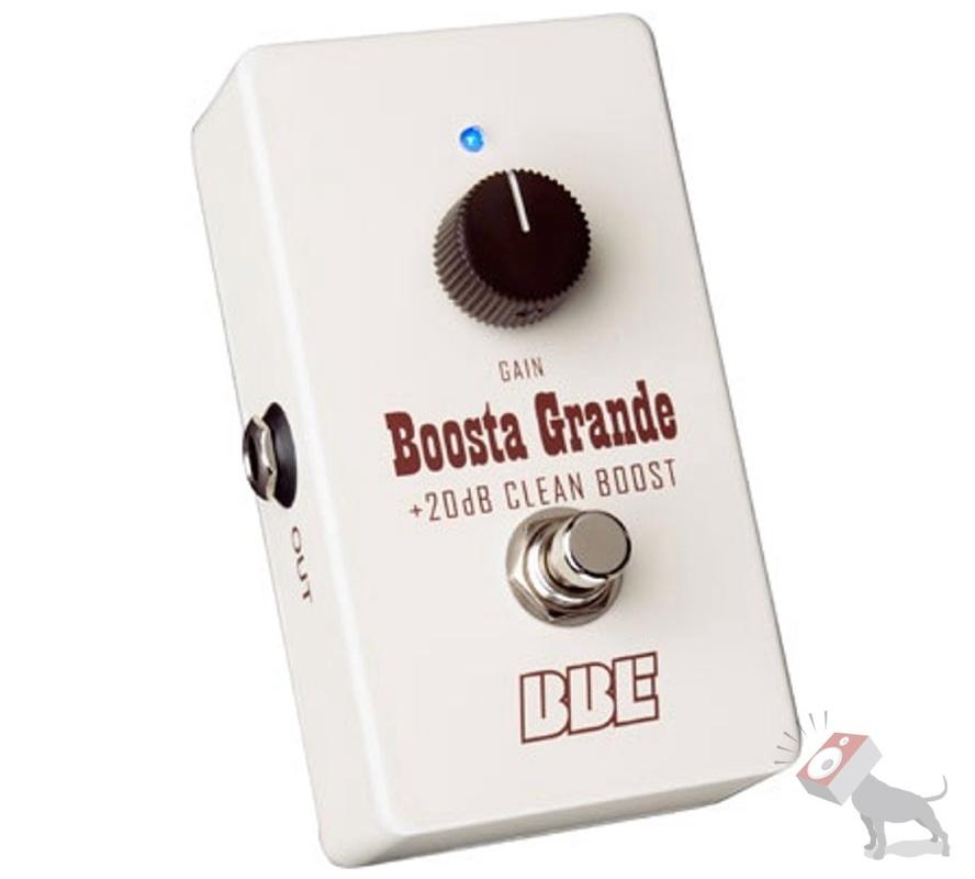 BBE Boosta Grande +20dB Clean Boost BG-20 Guitar Effects Pedal