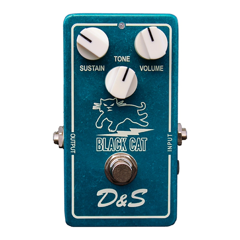 Black Cat Pedals D&S DS Guitar Effects Pedal (Ibanez/Maxon OD-801 Replica)