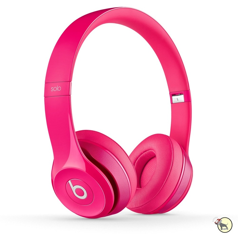 Beats by Dre Solo2 Wired Headphones - Pink