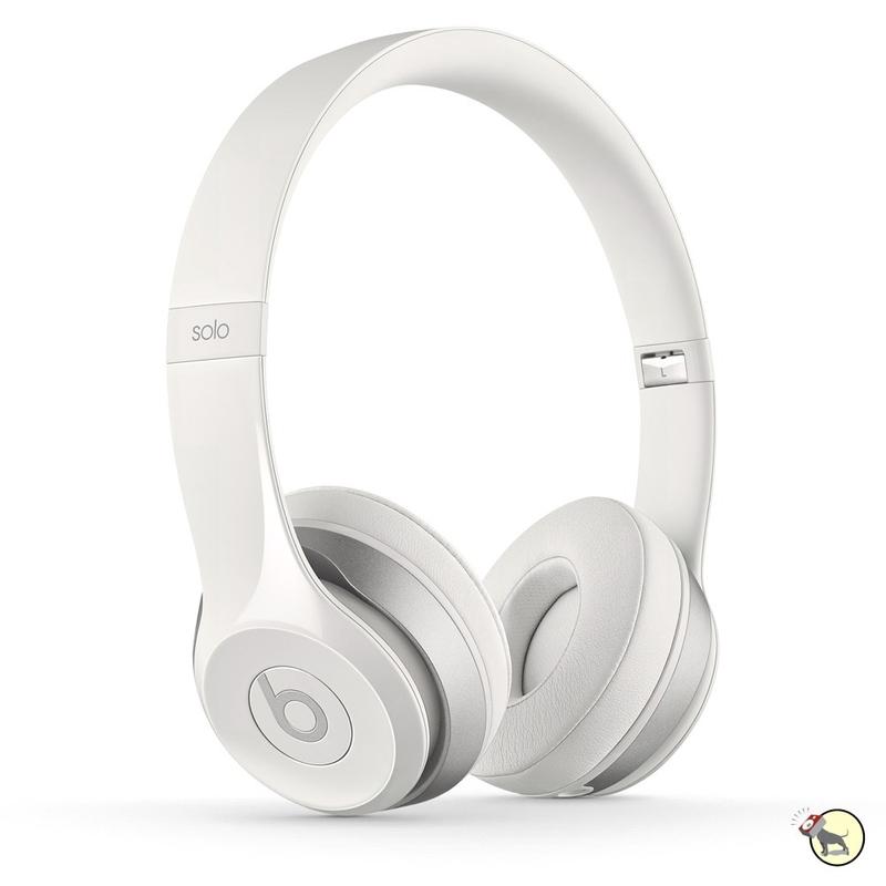 Beats by Dre Solo 2 On-Ear Headphones (White)