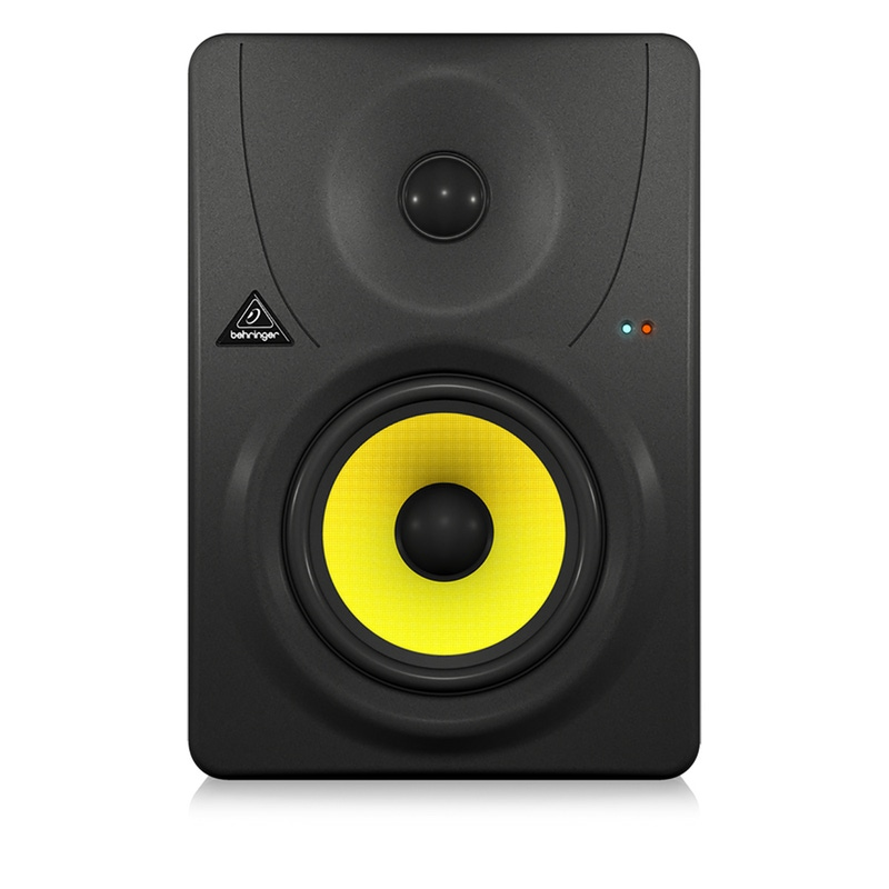 "Behringer B1030A High-Resolution, Active 2-Way Reference Studio Monitor with 5.25"" Kevlar Woofer"