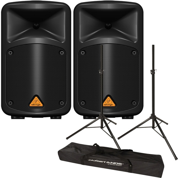Behringer Europort EPS500MP3 Portable PA System with Stands