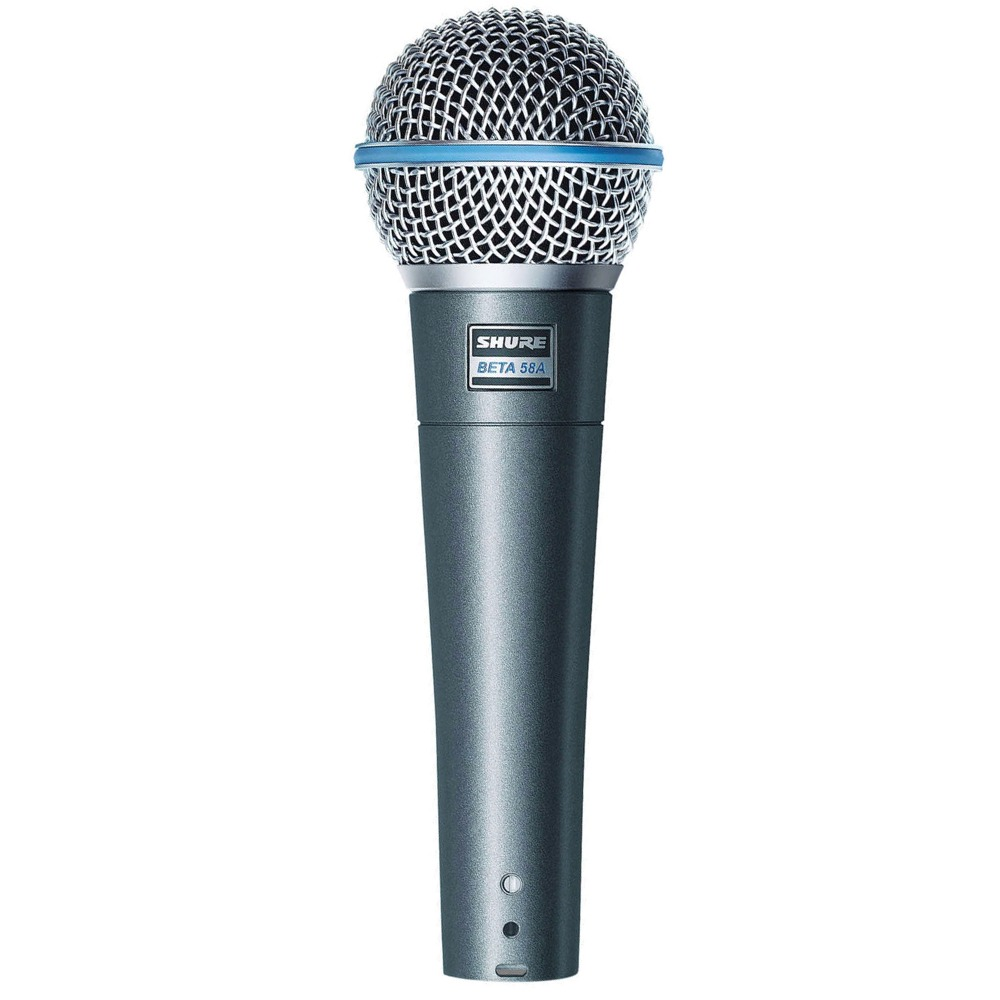 shure beta 58a handheld live stage studio recording dynamic mic vocal microphone. Black Bedroom Furniture Sets. Home Design Ideas