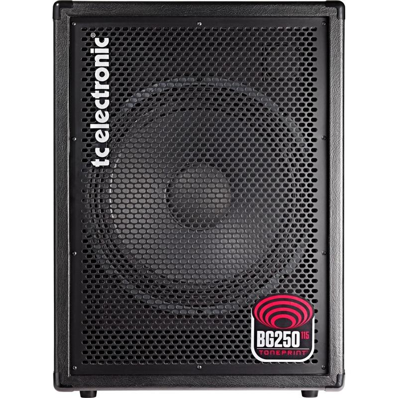 TC Electronic BG250 115 250-Watt Bass Guitar Combo Amplifier Toneprint Enabled (B-STOCK)