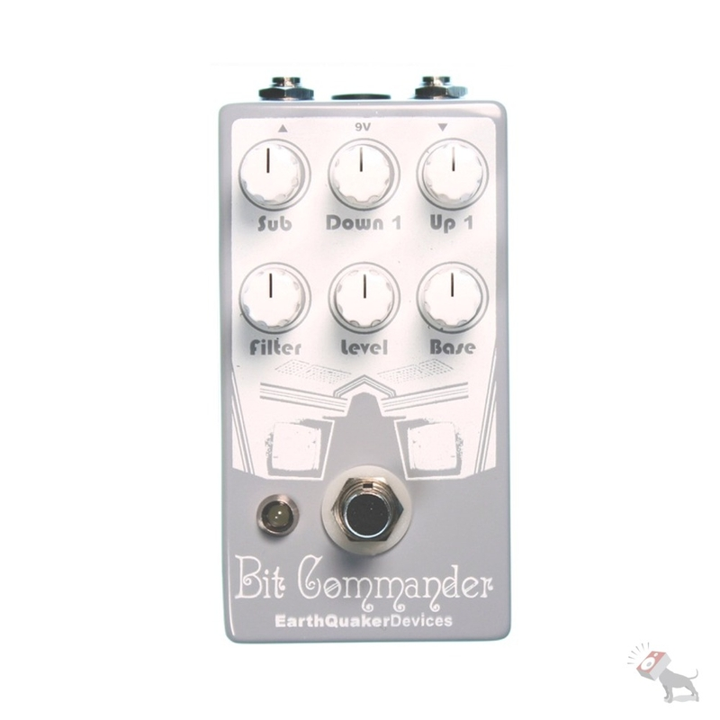 EarthQuaker Devices Bit Commander Monophonic Analog Guitar Synthesizer Pedal