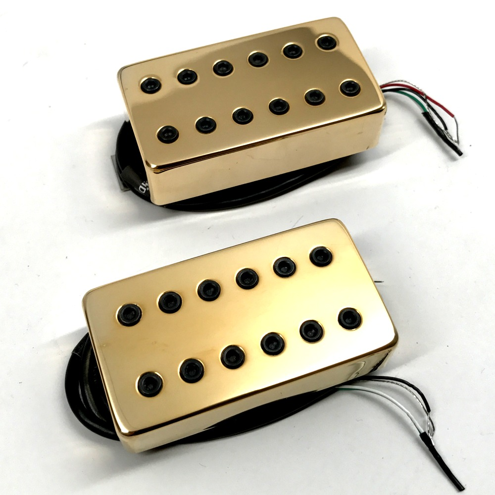 pitbull audio bare knuckle juggernaut 6 string calibrated humbucker set 53mm gold covers. Black Bedroom Furniture Sets. Home Design Ideas