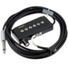 """Bill Lawrence A-345C Prebalanced Acoustic Guitar Soundhole Pickup with Attached 12-Foot 1/4"""" Cable"""