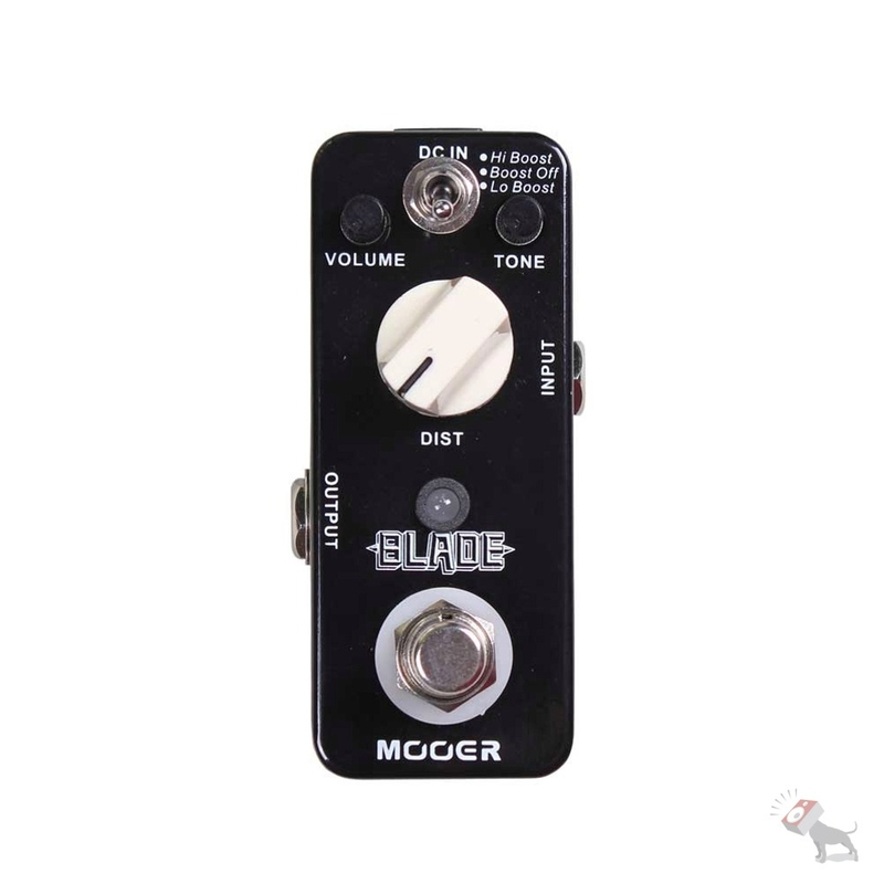 Mooer Blade Distortion Guitar Pedal