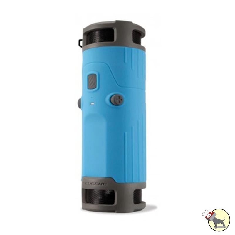 SCOSCHE BTBTLBL boomBOTTLE Weatherproof Wireless Speaker (Blue)