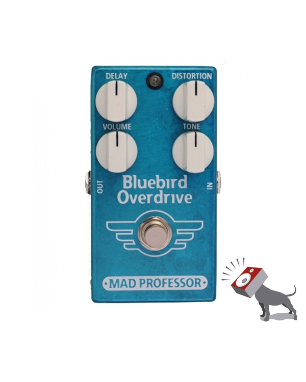 Mad Professor Bluebird Overdrive Delay Guitar Effects Pedal BODD