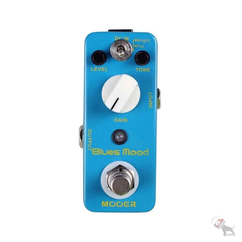 Mooer Blues Mood Overdrive Guitar Pedal