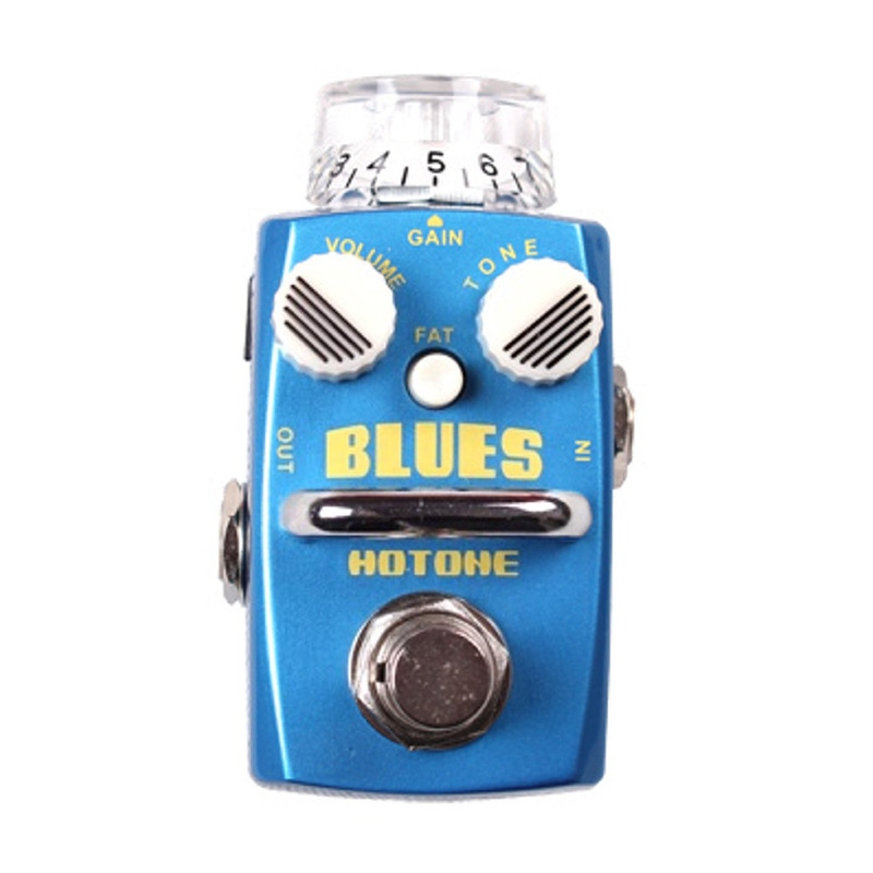 Hotone Blues Overdrive Distortion Skyline Series Stompbox