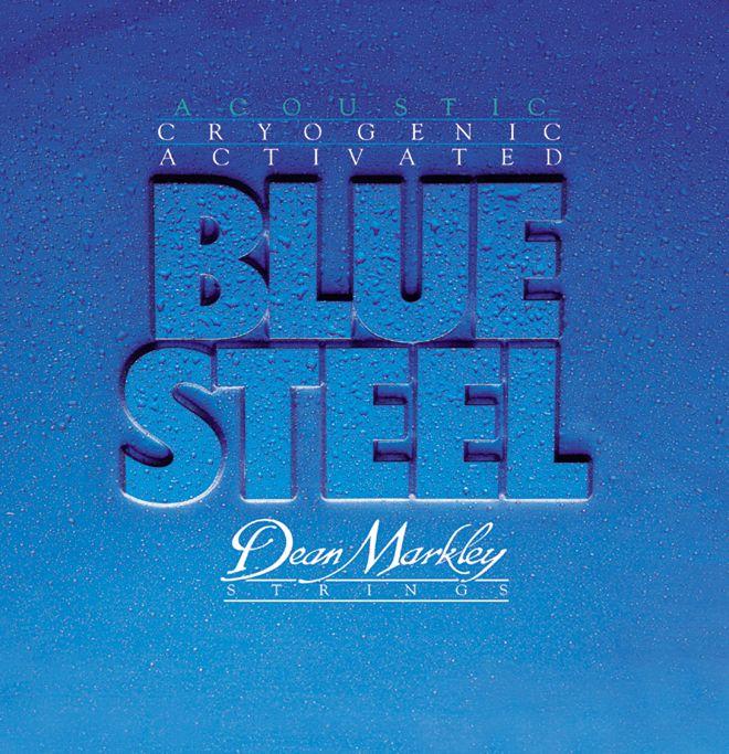 Dean Markley 2036 Blue Steel Acoustic Guitar String ML Gauge .012-.054 3 sets pk