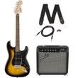 Squier Affinity Series Stratocaster HSS Beginner Electric Guitar Pack - Brown Sunburst