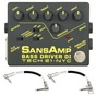 Tech 21 SansAmp BSDR Bass Driver DI Preamp Guitar Effects Pedal & Fender Patch