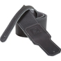 "BOSS BSL-25-BLK 2.5"" Premium Leather Guitar Strap, Black"