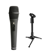 Rode M2 Live Performance Microphone with Mini Tripod Stand