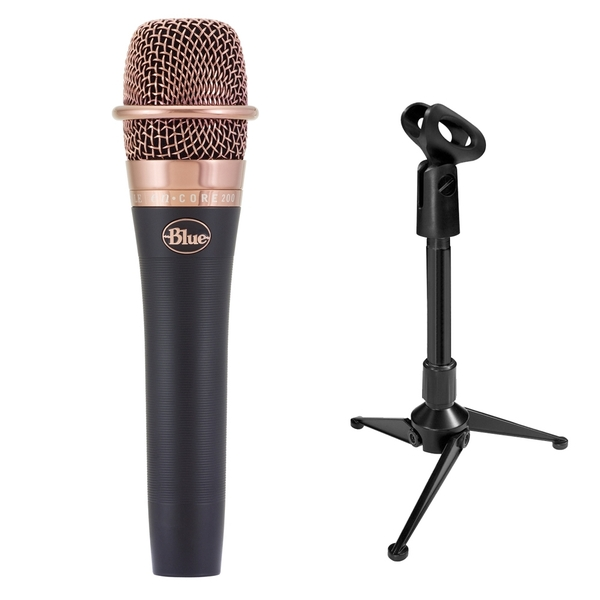 Blue enCORE 200 Dynamic Microphone with Mini Tripod Stand