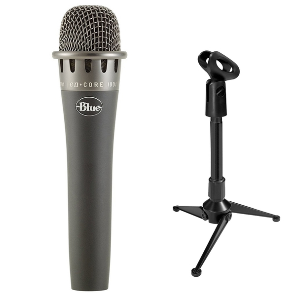 Blue enCORE 100i Dynamic Microphone with Mini Tripod Stand