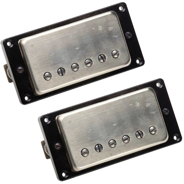 Seymour Duncan Antiquity Guitar Pickup Humbucker Nickel Cover Bridge Neck Bundle