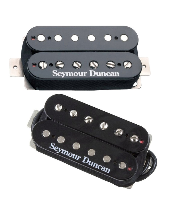 Seymour Duncan SH-4 JB Bridge SH-2n Jazz Neck Black Humbucker Pickup Bundle