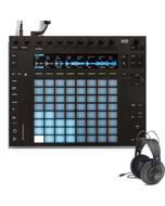 Ableton Push 2 Live 10 Controller and Samson SR850 Headphones