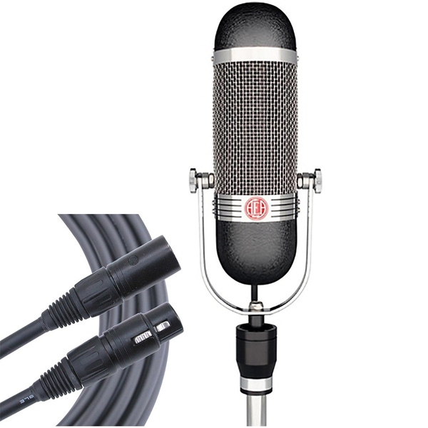 AEA R84 Large Ribbon Studio Microphone with Carry Case and Mogami Gold Studio XLR Cable (25ft)