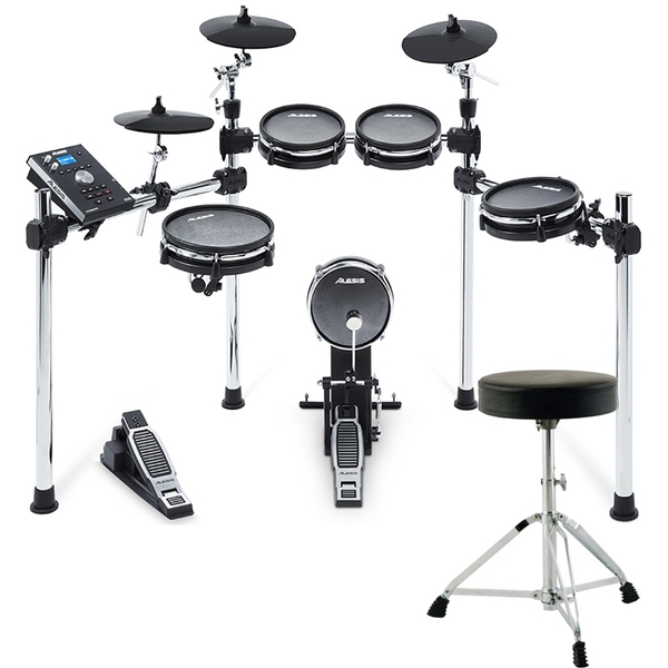 Alesis Command Mesh 8-Piece Electronic Drum Kit with Throne