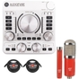 Arturia AudioFuse USB Audio Interface Silver with MXL Microphone Set and XLR Cables