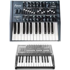 Arturia Minibrute 25-Key Analog Synthesizer and Mixware Decksaver Cover