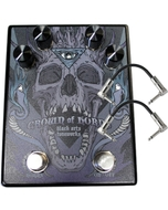 Black Arts Toneworks Crown Of Horns Fuzz Guitar Effects Pedal and Patch Cables