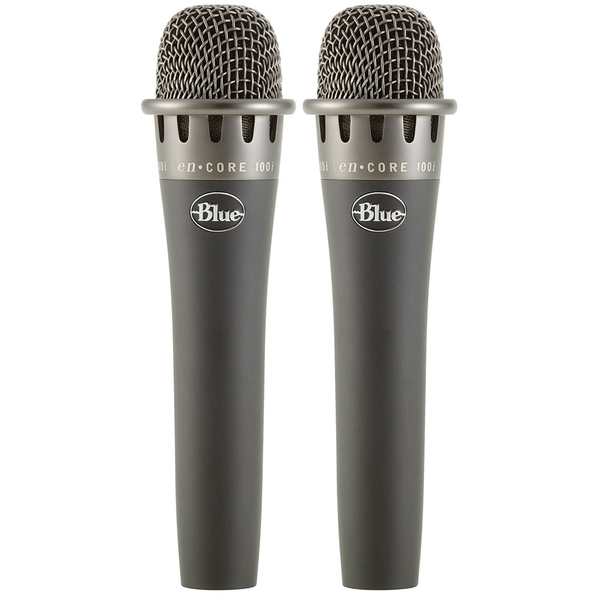 2-Pack of Blue Microphones enCORE 100i Dynamic Instrument Microphones