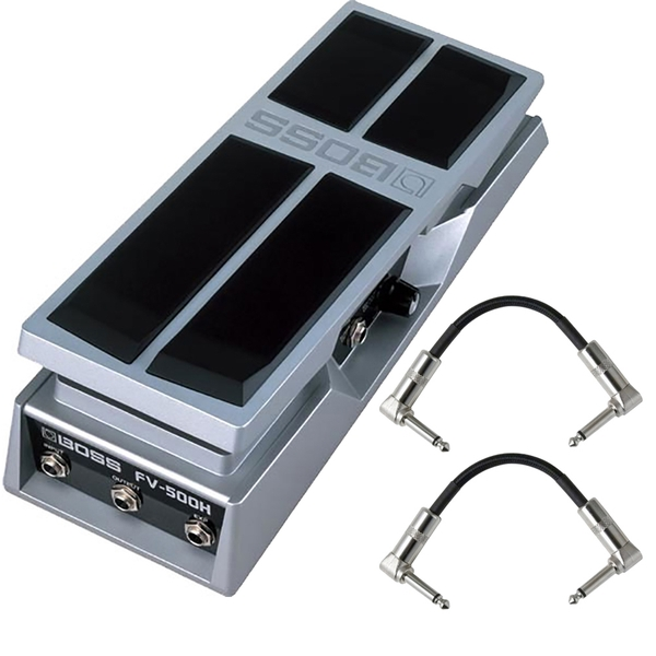 BOSS FV-500H Foot Volume Pedal with Patch Cables