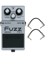 Boss FZ-5 Fuzz Pedal with Patch Cables