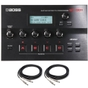 BOSS GT-001 Table Top Guitar Effects Processor with Instrument Cables