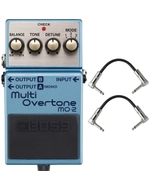 BOSS MO-2 Multi Overtone Guitar Effects Pedal with Patch Cables