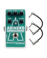 Catalinbread Adineko Oil Can Delay Guitar Effects Pedal with Patch Cables