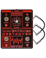 Death by Audio Waveformer Destroyer Multi-Effects Guitar Effects Pedal with Patch Cables