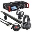 Tascam DR-701D + Audio Technica M20x + Rode NTG2 + HDMI Cable Bundle