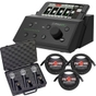 Mackie DX4 Digital PA Mixer + Microphones & Cable Bundle