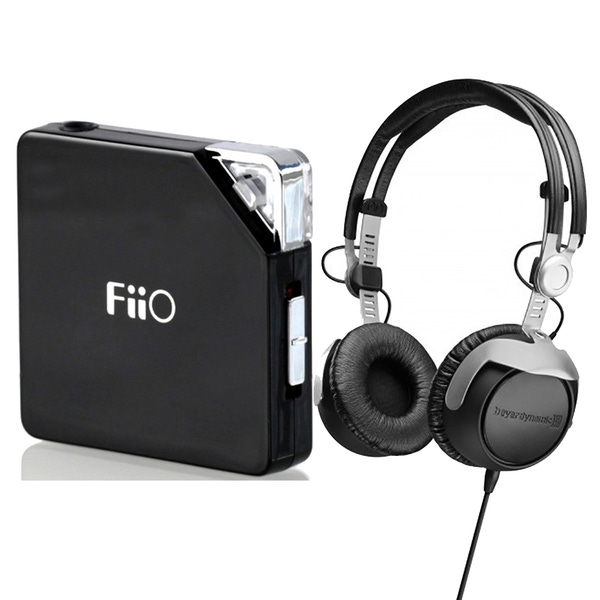 Beyerdynamic DT-1350 80 Studio Headphones with FiiO E06 Fujiyama Headphone Amplifier