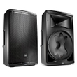 "JBL EON615 1000-Watt 15"" 2-Way Powered Speaker System Pair with Bluetooth Control"