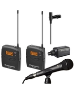 Sennheiser EW100ENGG3-A Wireless Microphone System A (516-558 MHz) & Rode M1 Microphone